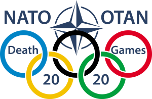 Olympiade NATO_Olympic_Games_Rings_Missbrauch_Brot_Spiele
