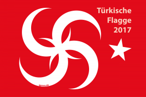 Erdogan stoppt Betritt der EU zur Türkei Tuerkische Flagge 2017 Erdogan Diktatur