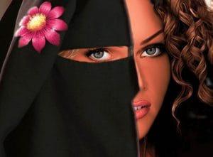 Vollverschleierung_Schleier_niqab_Halbverschleierung_Kompromiss_Burka