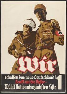 wir schaffen das wurzeln verbindung Merkel Nationalsozialismus entstellt