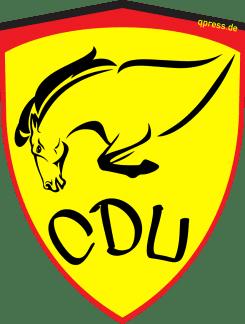 Ferrari Logo stuerzender Gaul neues Logo fuer CDU treffen Merkel renzi italien Solidaritaet