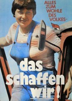 Merkel-Mantra wird 35 stammt vom X Parteitag der SED 1981