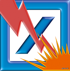 pennystock-deutsche-bank-logo-durchkreuzt-kreuz-fertig-pleite-durchkreuzt