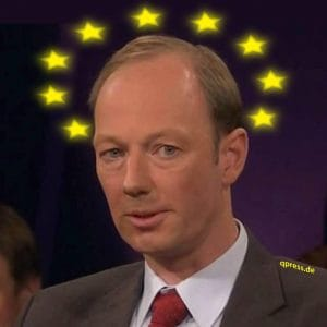 Martin Sonneborn als EU-Kommissionspräsident