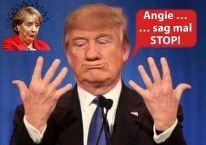 Der Donald Trump Erlass in der Bundesregierung donald-trump-und-angela-merkel-zum-thema-demokratie-und-dreundschaftliche-verhaeltnisse