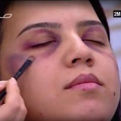 gewalt-gegen-frauen-schminke-gegen-gewalt-pruegelnde-maenner-kultur-islam-marokko-schminktipps-sendung-qpress
