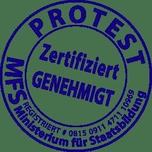 Merkel will Wahrheitsministerium noch vor der Wahl protest-mfs-ministerium-fuer-staatsbildung-ertifiziert-genehmigt-qpress-zensur