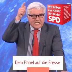 So eloquent pinkelt Steinmeier dem Trump ans Bein