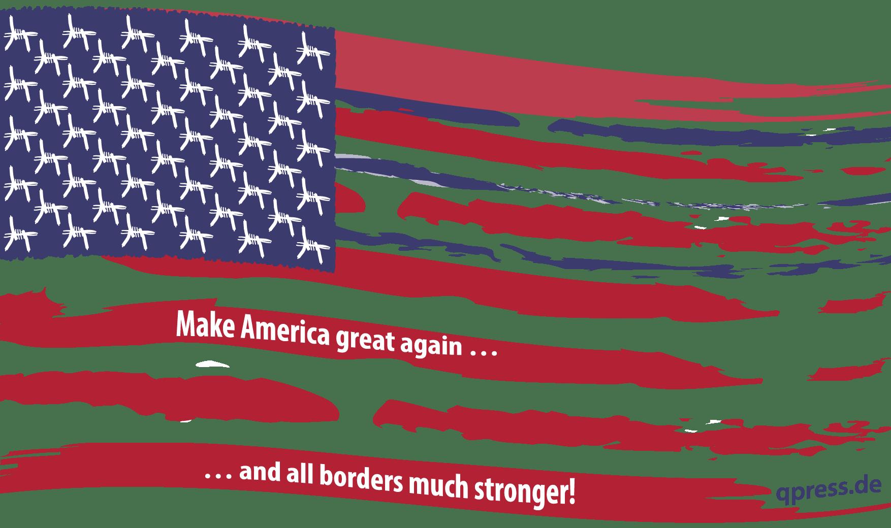 Kriegsflagge Usa