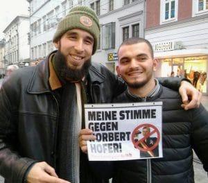 Österreich stemmt sich gegen fatalen Rechtsruck fuck-hofer-marsch-oesterreich-umzug-protest-demo-gegen-norbert-hofer-bpw2016-anti-ureinwohner-einzelbild-nikolausbekaempfer-qpress