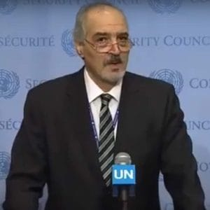 Syriens Gesandter redet Bayrisch-Klartext vor der UN