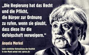 Hat Merkel versäumt sich ein neues Volk zu erwählen