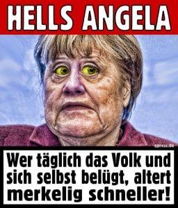 Angela Merkel nennt Donald Trump einen Amateur
