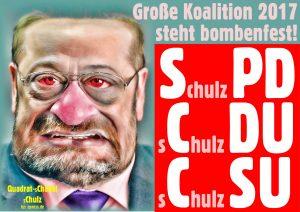 Wahnsinn mit 1000 Promille: Chulz wird Chef bei SPD