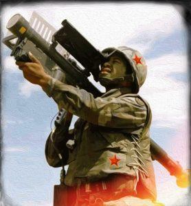 Diese dreisten Russen: Tomahawk Tontaubenschießen