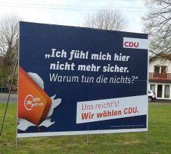 Verwahrloste CDU