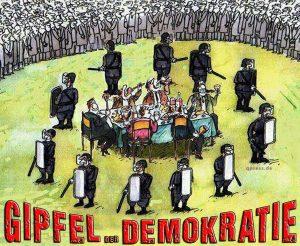 Der total überteuerte Sinnlos-Gipfel der Demokratie