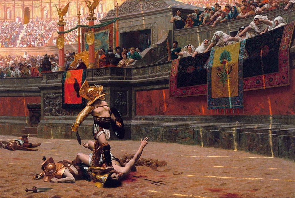 Rom und die Wiedereinführung der Gladiatorenkämpfe