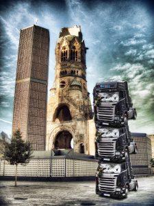 Berliner Schrott-Mahnmal für Terror und Islamismus