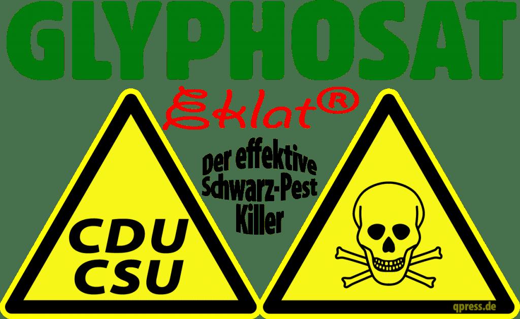 Glyphosat-Eklat hält Bayern 5 Jahre CSU-frei