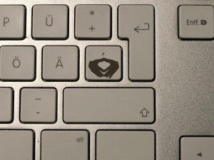 QWERTZ Tastaturen bekommen Merkel-Raute