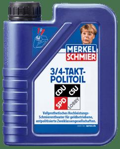 Merkel kündigt umfangreiche Bürgerbeteiligung an