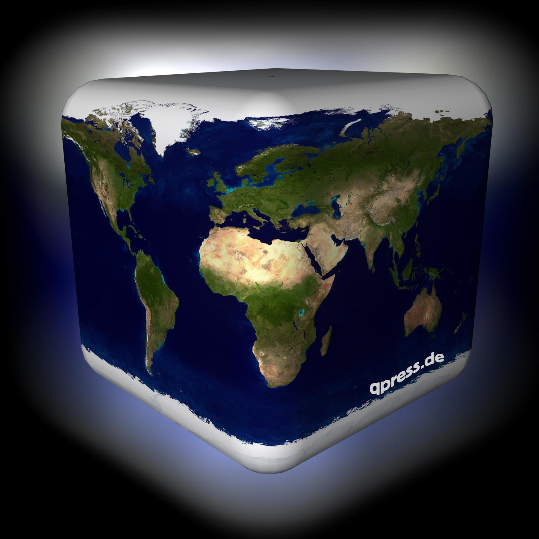 Flache Erde Karte Kaufen.Brutalster Flache Erde Beweis Aller Zeiten Qpress