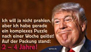 Ist Donald Trump zu blöd für Hass und Feindschaft