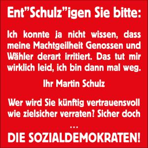 Schulz is back: Endlich macht er auf Kanzler