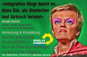 Berliner Richter wähnten Renate Künast in AfD