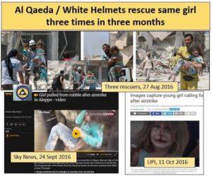 "Retten Weißhelme ""Syria-Girl"" zum Xmas-ten Mal?"