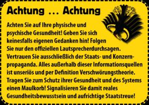 Seuchenminster Herrmann macht den Herrmann