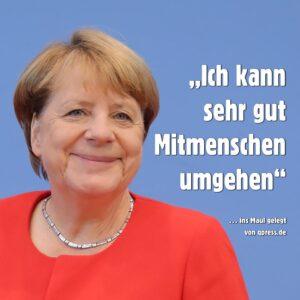 """Merkel verfügt: """"Die Erde ist eine Scheibe"""""""