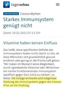 ARD lässt TagesSau über Immun-Dorf kreisen