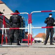 Tirschenreuth im Demonstrations-Ausnahmezustand