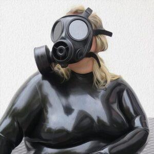 Blasen mit Maske … wie soll das funktionieren?