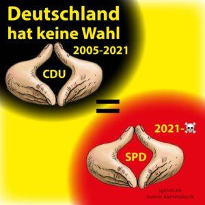 Deutschland, zutiefst und unheilbar zerrissen?