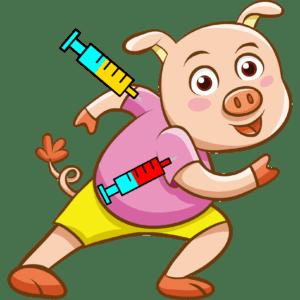 Welches Impf-Panik-Schweinderl hätten S' gern?
