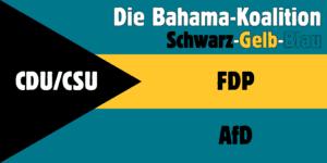 """Bahama-Koalition – """"Germany goes banana"""""""